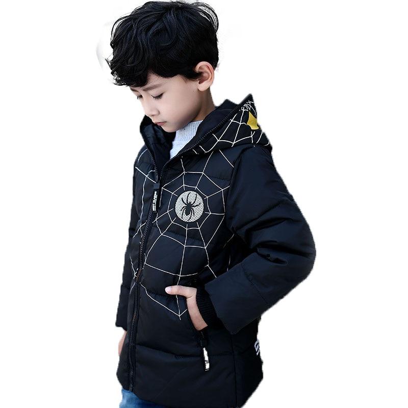 Children down Girls Boys Winter Coat Long Sleeve Boys Winter Jacket Hot Sale Hooded WindProof Children Kids  30#