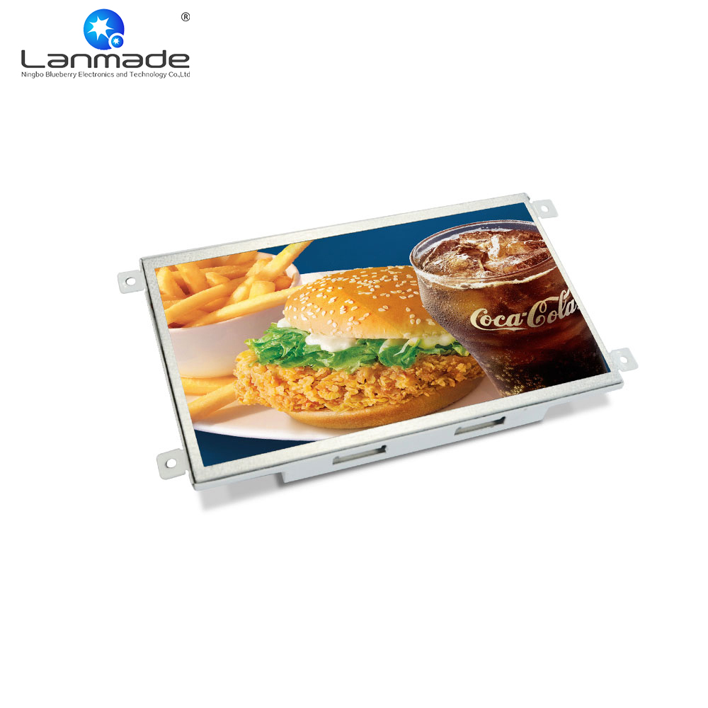10.1inch 1080p decode Open Frame LCD Advertising Display signage