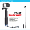 19 Inch and 36 Inch Extendable Pole for Gopro Hero 5 4 XiaoYi SJCAM SJ4000 Telescoping Aluminum Monopod Tripods 10