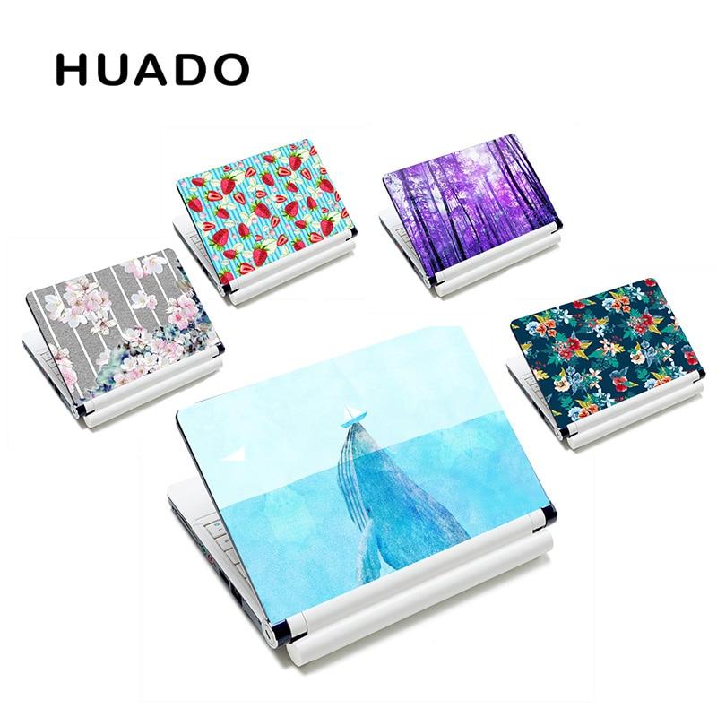 Nieuwe stijl bloem meisje laptop huid custom notebook sticker covers 15.6 voor mac pro / hp / acer / asus / dell xps 15 / lenovo yoga