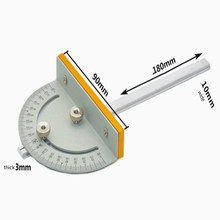 sierra circular mini table saw DIY woodworking machines Tstyle Angle ruler free shipping