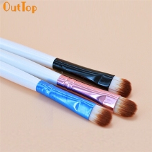 OutTop Love Beauty Женский 1pc Pro Косметика для лица Тени для век Контурная губная щетка O20 Drop Shipping HW