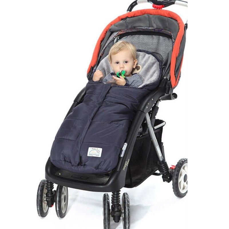 Caliente bebé cochecito saco de dormir polar cochecitos Footmuff bebé Swaddle Wrap sobres para recién nacidos bebé 4 colores Sleepsack