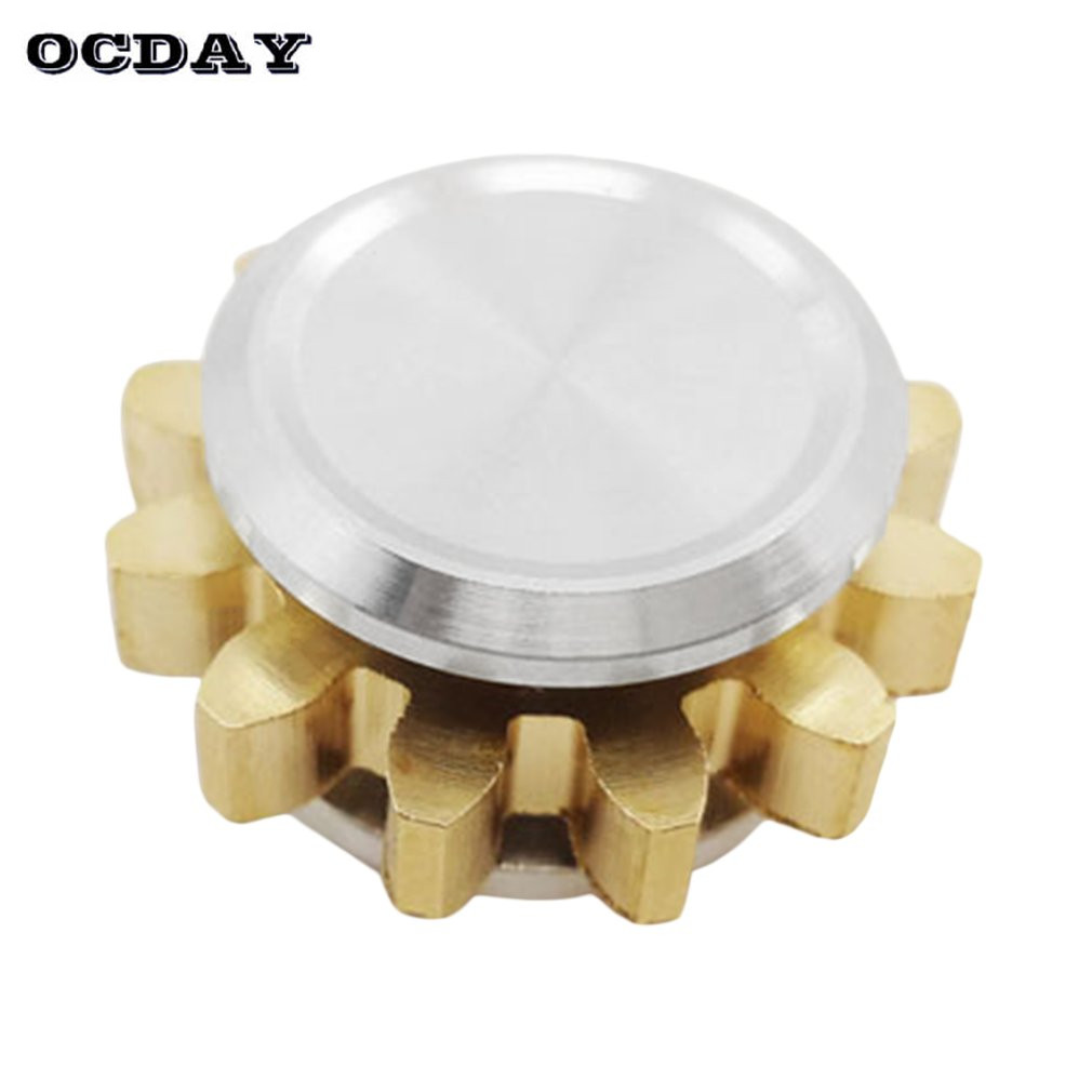 OCDAY Mini Hand Spinner High Speed Cute One Gear Fingertip Spinner Toy Spiral Desktop Finger Anti-Stress Spiner For Kids Adults