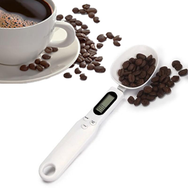 500 г/0,1 г портативная LCD Цифровая кухонная мерная ложка-весы Gram электронная ложка вес осень пищевая шкала Новое высокое качество