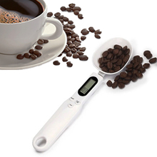 500g/0.1g Portable LCD Digital Kitchen Scale Measuring Spoon Gram Electronic Spoon Weight Volumn Food Scale New High Quality