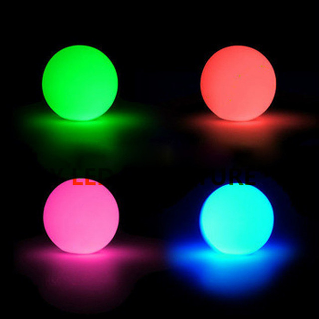 Rechargeable D16cm Led Lighting Ball Events Light Up For Pool