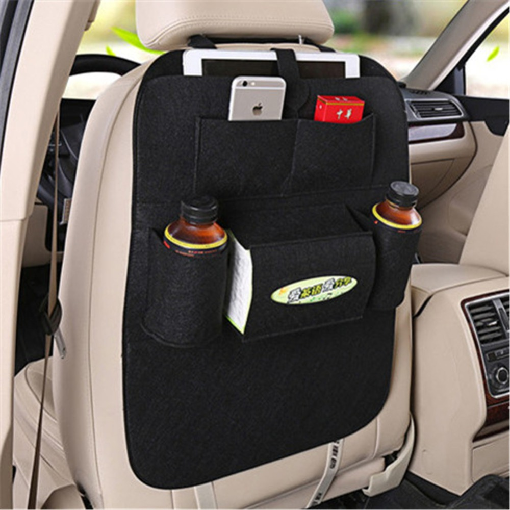 Auto Organizer Tablet Us 7 49 25 Off Car Backseat Organizer Auto Storage Bag Cup Holder Multi Pocket Storage Holder For Drink Tablet Tissue Car Organizer Phone Pouch In