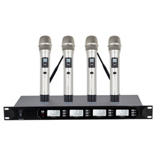 One for four U-segment wireless conference gooseneck stage performance microphone teaching hosted condenser microphone