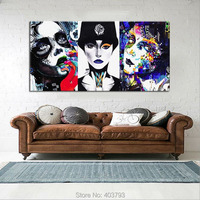 Perfect 100% Hand painted MODERN ABSTRACT WALL ART OIL PAINTING ON CANVAS Woman 24x48 For Living Room
