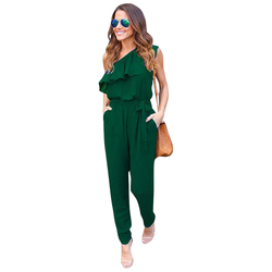 Women sexy jumpsuit rompers chiffon summer playsuit ruffles off shoulder rompers overalls lj9057e.jpg 250x250