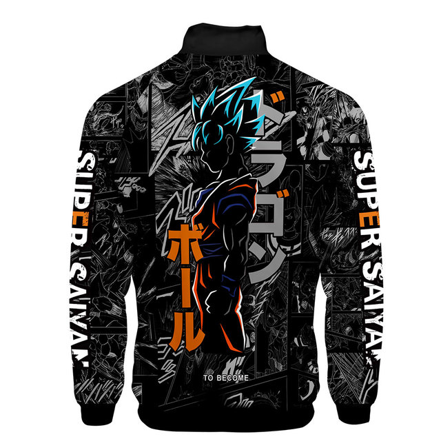 3D  Dragon Ball Goku Harajuku Hoodies 6
