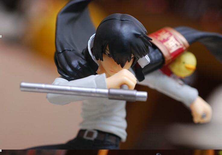 17CM Hitman Reborn Hibari Kyoya PVC Action Figure Collection Model Toy JP007