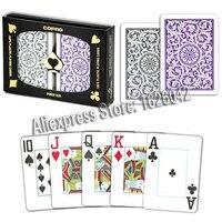 XF Copag 1546 Оригинал 2 колоды один комплект 100% Пластик Высокое качество Покер tourment Карточные игры Сделано в Бразилии
