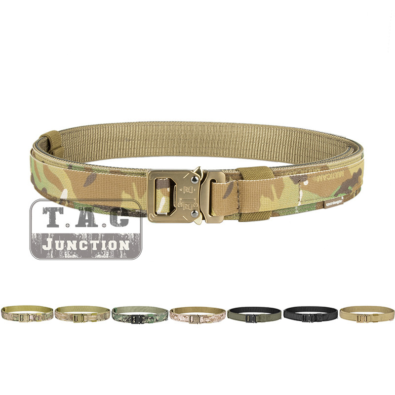 Emerson Tactical Belt Hard 1.5 '' Shooter Shooting Belt Emersongear Military Airsoft Multicam Camouflage Quick Release Buckle