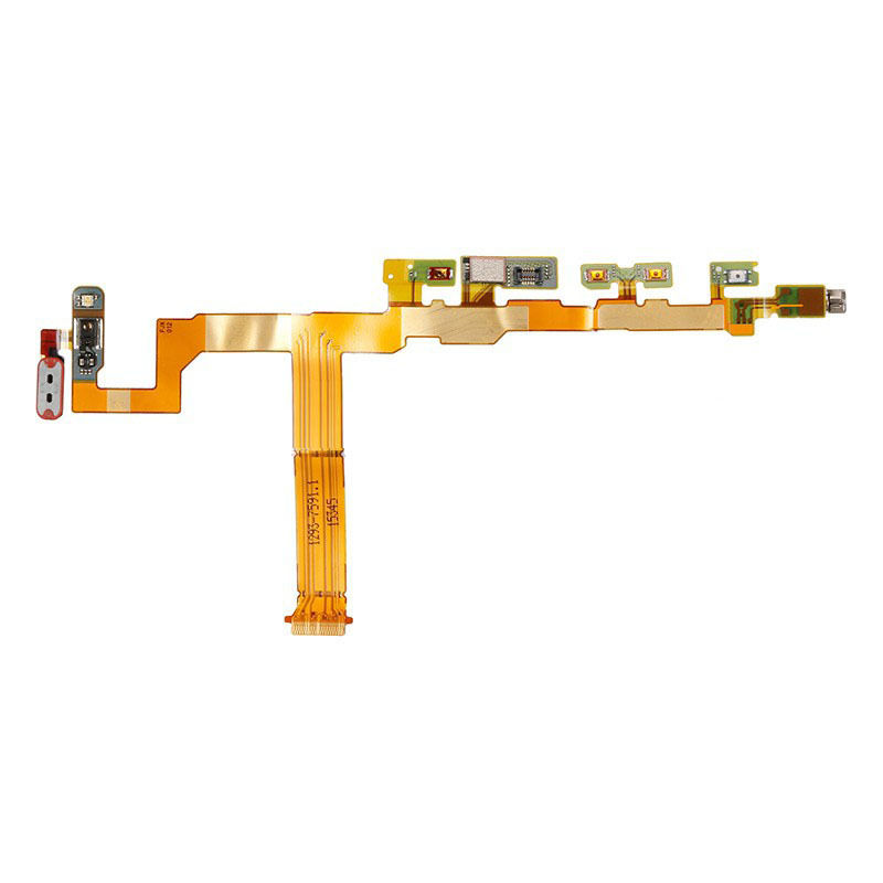 <font><b>Motherboard</b></font> Volume Power Button Vibrator Motor Flex Cable Ribbon Repair Part For Xperia <font><b>Z5</b></font> Compact / Mini E5803 E5823 image