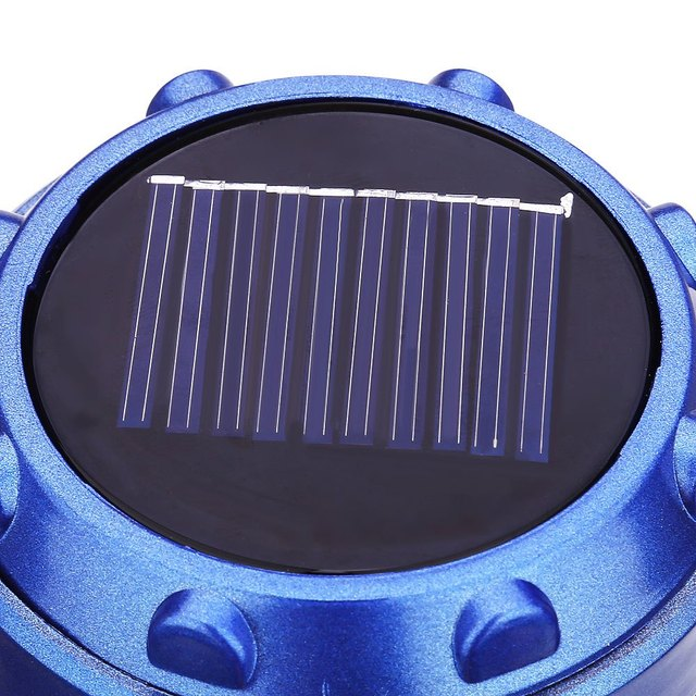 USB Solar Camping Light Ultra Bright LED Collapsible for Outdoor Hiking Backpacking Fishing Stainless Steel Handles Fire Safety