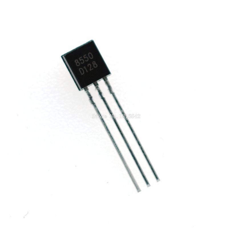 100PCS/Lot S8550 S8550D 8550 Triode Transistor PNP General Purpose Transistors TO-92 0.5A 40V PNP Original New