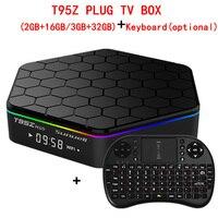 Sunvell T95Z Plus Android 6 0 Smart Box Amlogic S912 Octa Core 4K X 2K H