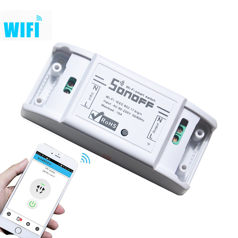 itead sonoff wifi remote controlsmart switch Home automation Intelligent interru