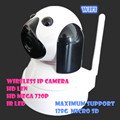 1.0MP HD 720P PT IP Camera Wifi P2P Wireless Security Night Vision IR Cut Two Way Audio Webcam support msd memory card baby cam