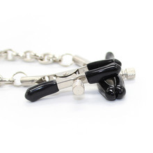 Stainless Steel Teat Clamps With Chain For Couples