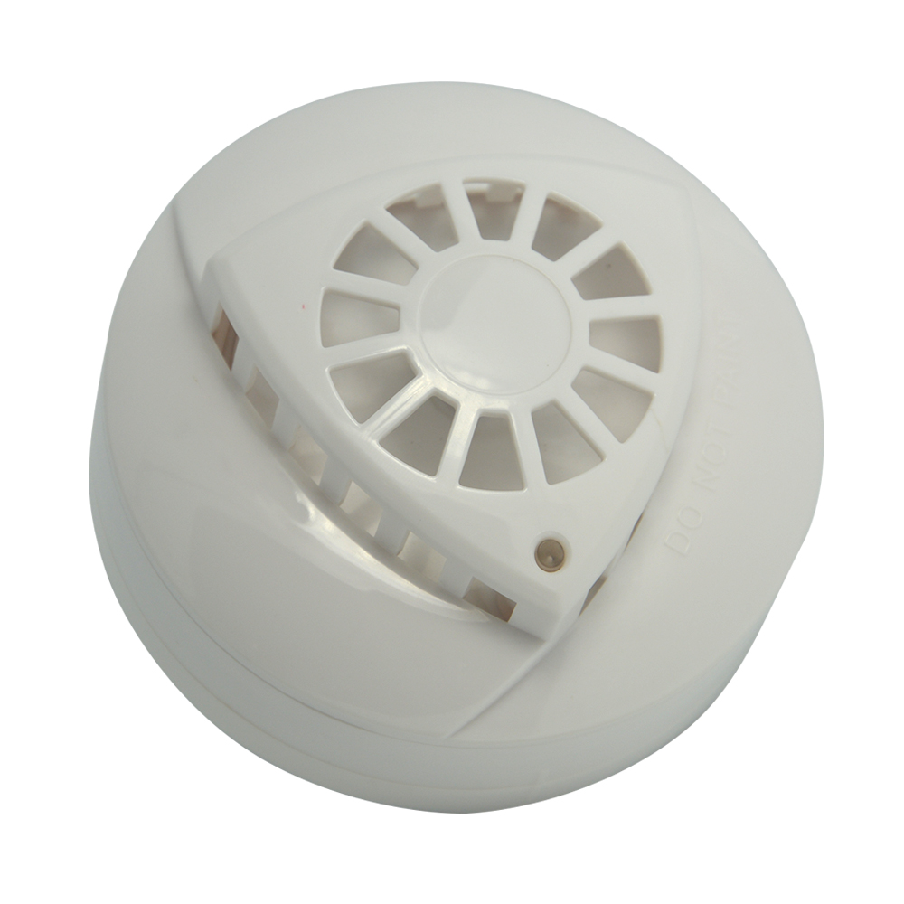 hight resolution of indoor ceiling smoke alarm and heat sensor over 57 degree home security wire smoke detector fire temperature alarm in heat detector from security