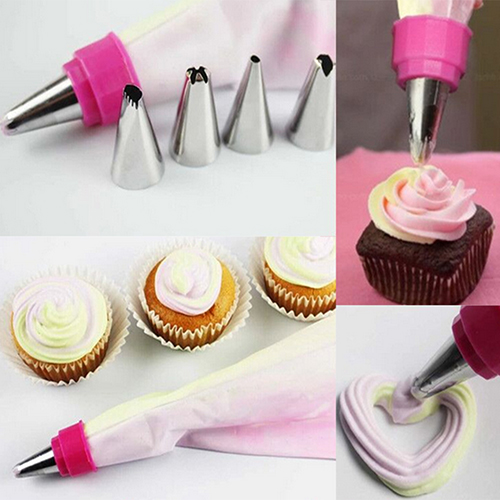 Wholesale 2 Colors Pastry Cake Decorating Icing Piping Bag ...