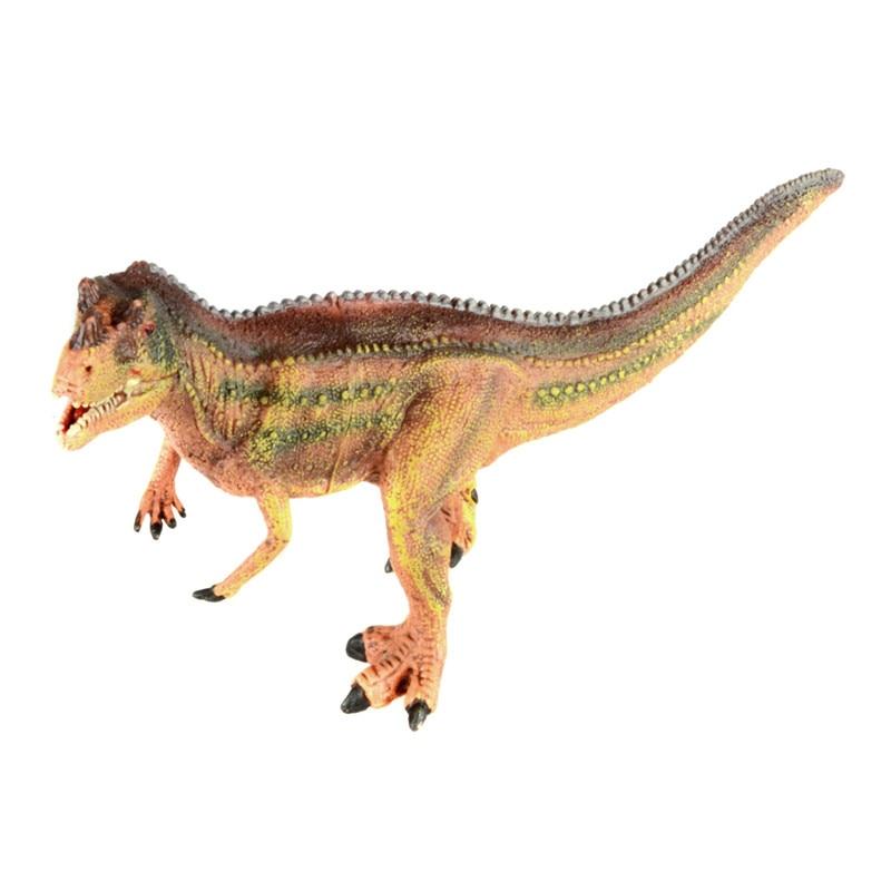 ФОТО starz hollow jurassic world allosaurus plastic animals toys dinosaur model action figures boys gift