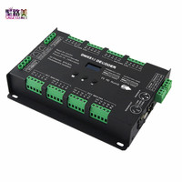 BC 632 DC5V 24V постоянного Напряжение 32CH DMX/RDM панель расшифровки жидкокристаллического дисплея драйвер 3A * 32CH выход DMX512 rgbw контроллер для RGB свето