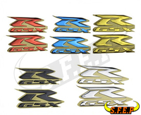 New 3D GSXR Motorcycle Decal Emblem Label Badge For Suzuki GSXR600 GSXR750 GSXR1000 K1 K3 K4 K5 K6 K7 K8 K9 K11 L0 L6 L7 Sticker