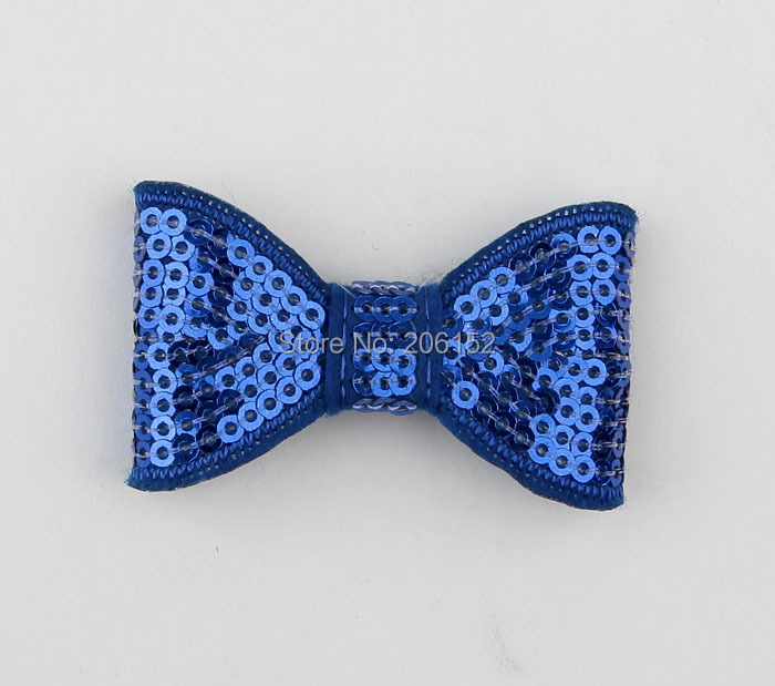 12pcs Hot Sale Sequin Bows Hair 5cm Children Sequin Bow Without Clip for Barrettes Bow Hairpin Girls Hair Clip Boutique Hairpin