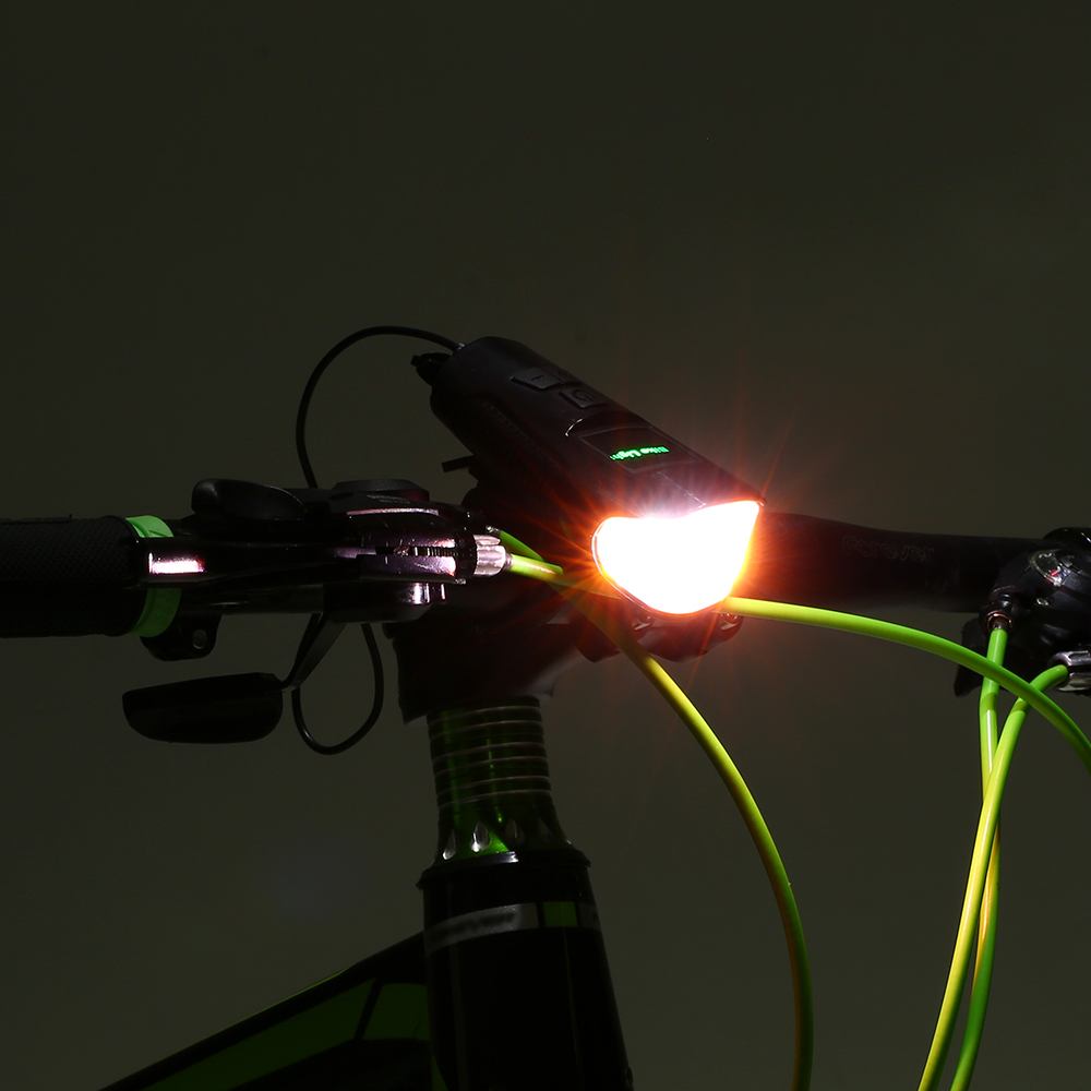 Headlight-Torch Headlamp Bicycle-Light Chargeable Mountain-Road-Bike USB Waterproof