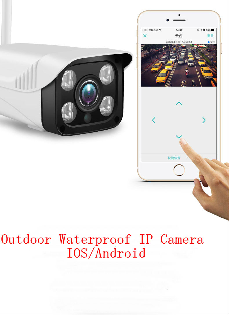 YobangSecurity 720P Yoosee IP Outdoor Camera Wifi For Wifi Alarm System IOS Android APP Control Waterproof Camera Night Vision