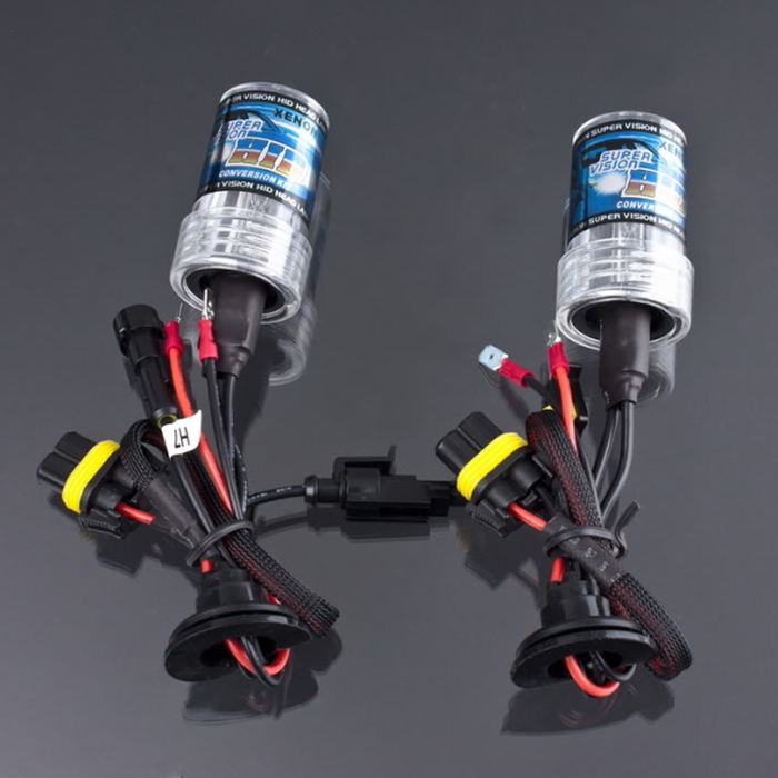 New 2pcs Car Auto Headlight Light H7 Xenon Lamp HID Bulb 6000K 12V 35W 3000LM Drop Shipping replacement d2c 35w 3000lm 6000k white light hid xenon lamp bulb headlight for car 2 pcs