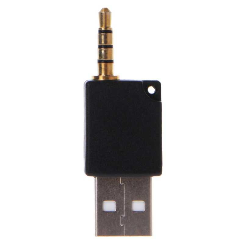 3.5 ミリメートルの usb 2.0 男性 Aux Aux アダプタアップルの Ipod シャッフル用 1st 2nd MP3
