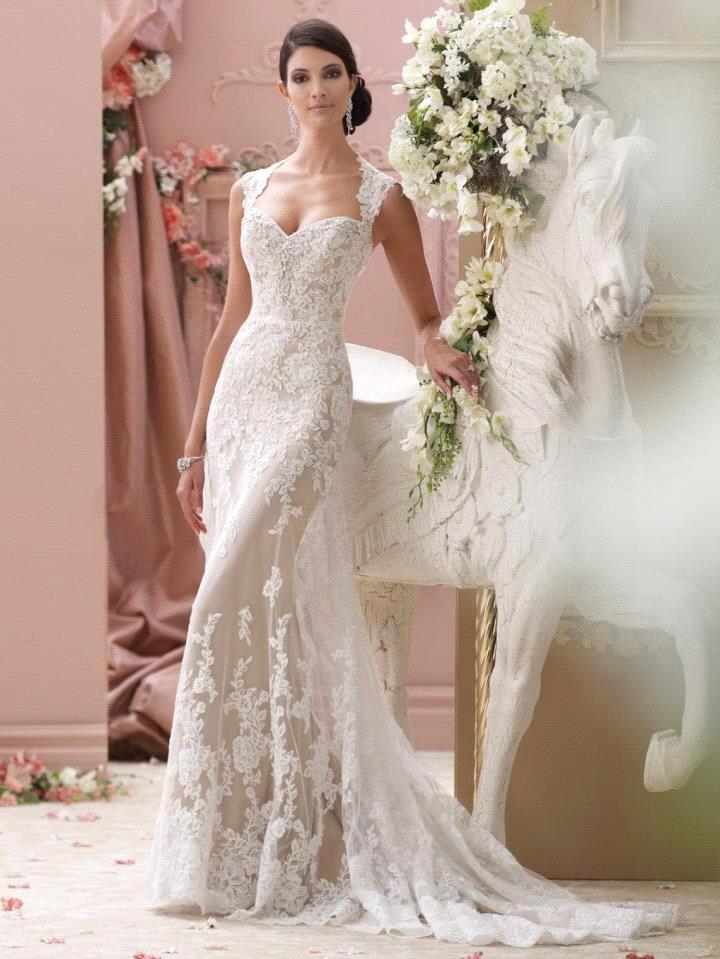 Vestido de Noiva Romatic Lace Sexy Open Back Wedding Dress 2019 Elegant A Line Bridal Dresses Wedding Gowns Robe de Mariage
