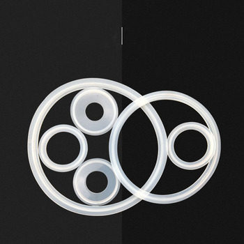 3Pieces  Silicone Gasket Flat Sealing Washer Spacer For Ferrule Pipe Fitting sealing gasket washer for sodastream tank on off filling adapter