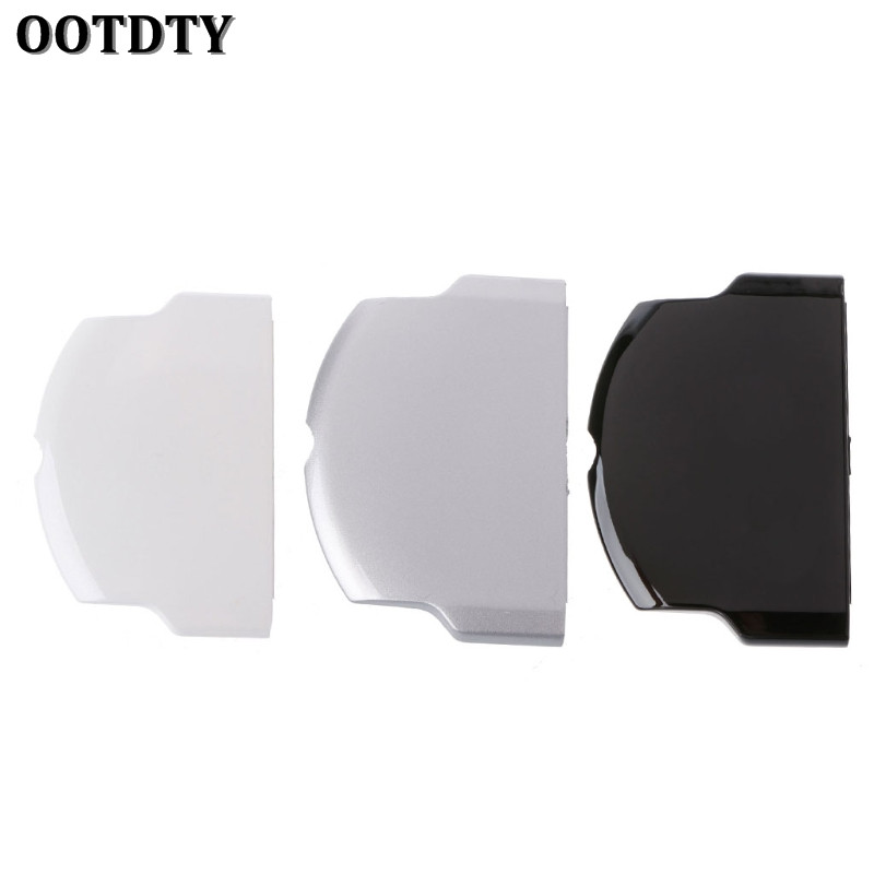 OOTDTY New Black/White/Sliver Color Battery Back Cover Case Replacement Protective Cover For PSP 2000 3000 Series