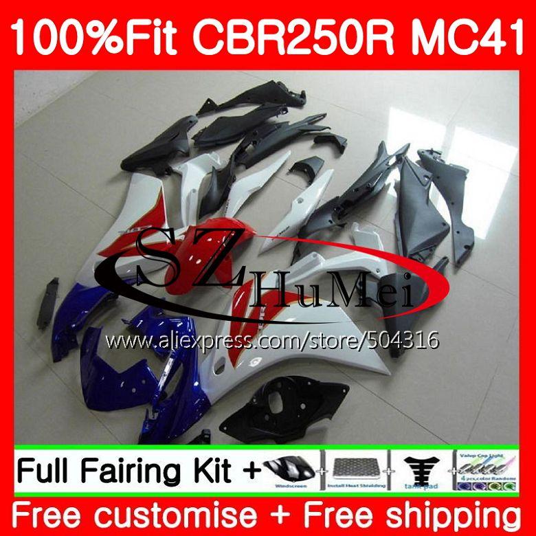 Unpainted Nose Cone Fairing for Honda CBR 954 RR Fireblade 02-03
