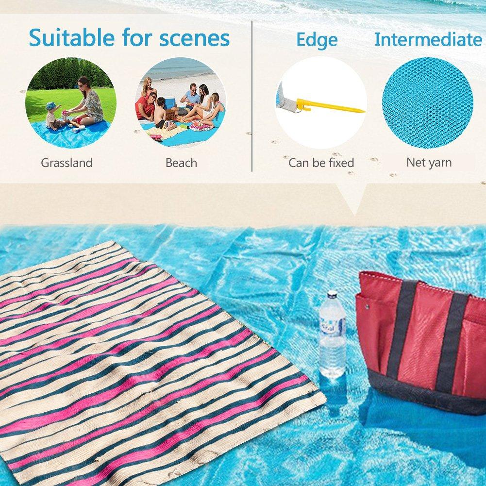 magic beach mat