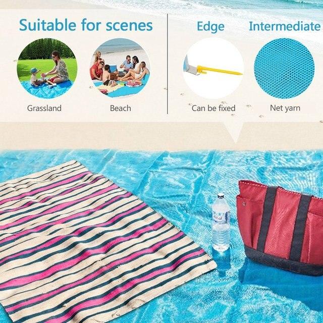 Magic Sand Free Beach Mat