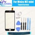 Meizu M2 mini Сенсорного Экрана Digitizer 100% Гарантия Оригинальное Дигитайзер Стеклянная Панель Замена Meizu M2 mini + инструменты + Клей