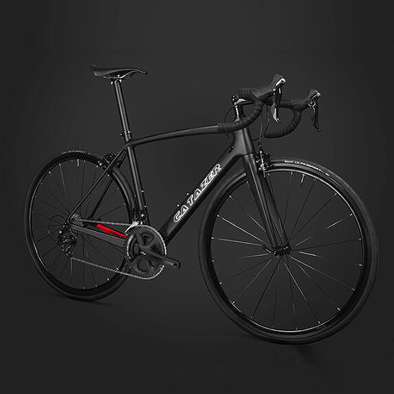 HTB1wdGMainrK1RjSsziq6xptpXaU - CATAZER 700C Highway Bicycle Tremendous Mild Full T700 Carbon Body Racing Highway Bike Carbon Wheelset 22 Pace Skilled Highway Bike