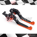 Fite Para KTM 990 SMT/Supermoto R 2008-2012 Acessórios Da Motocicleta Ajustável Folding Extensível Brake Captura Lever Preto
