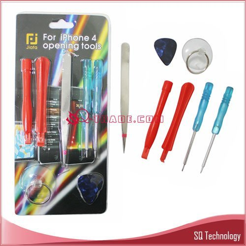 100pcs/lot 7 in 1 Open Tool for iPhone 4G free shipping by DHL UPS