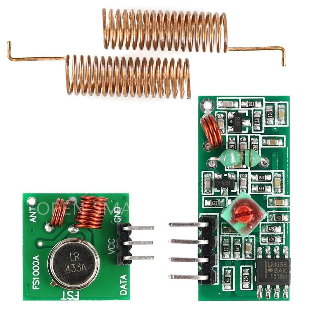 RF Transmitter Receiver - Pair 433 MHz Techshopbd