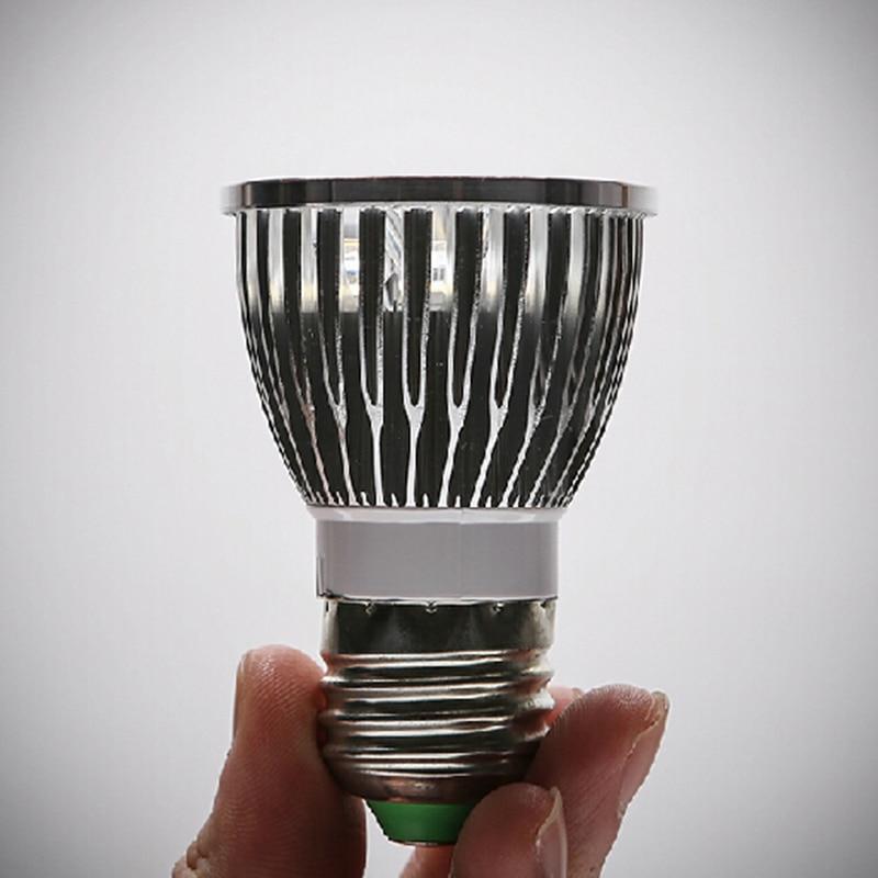 Toxum fidanları üçün tam spektral E27 GU10 E14 LED böyümə - Professional işıqlandırma məhsulları - Fotoqrafiya 6