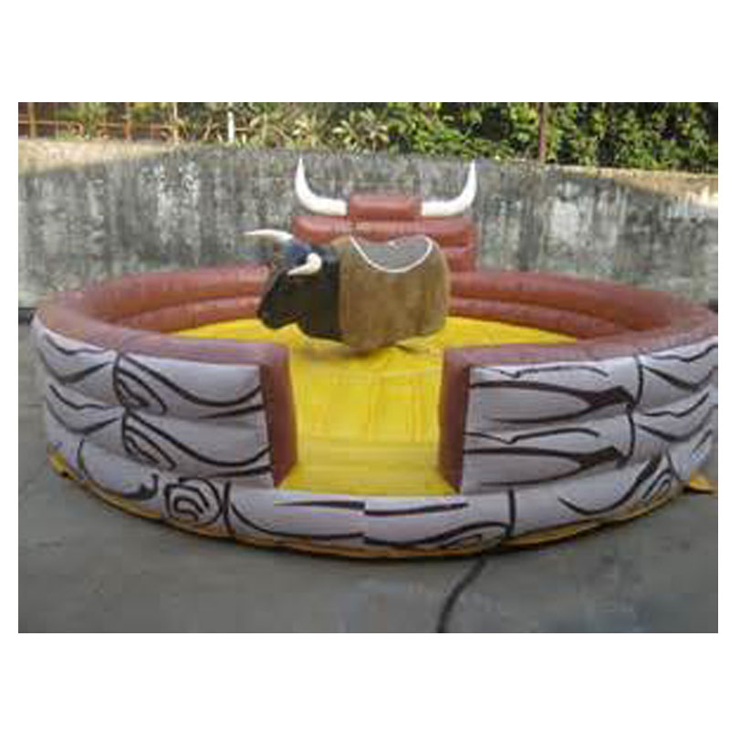 Interesting Design Outdoor Indoor Inflatable Bull Fighting Games For Adults Sports Game Mechanical Riding Crazy