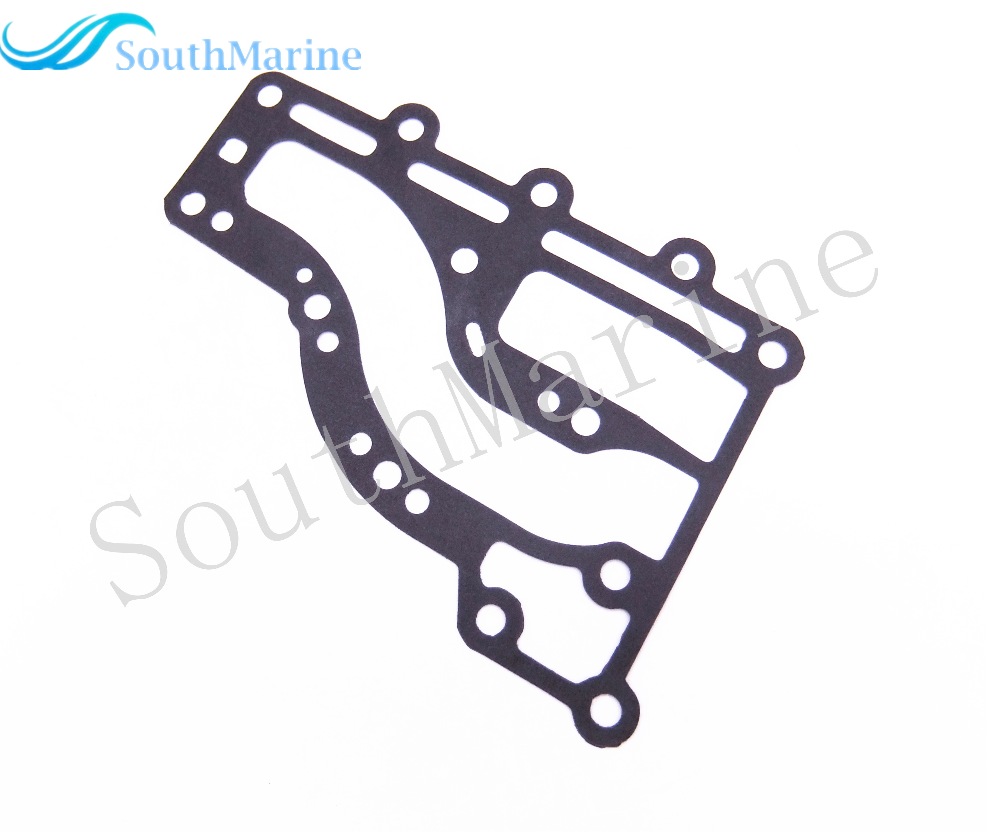 Boat Motor 63V-41112-A0 Exhaust Cover Gasket for Yamaha 2-Stroke 9.9hp 15hp Outboard Engine, Free Shipping